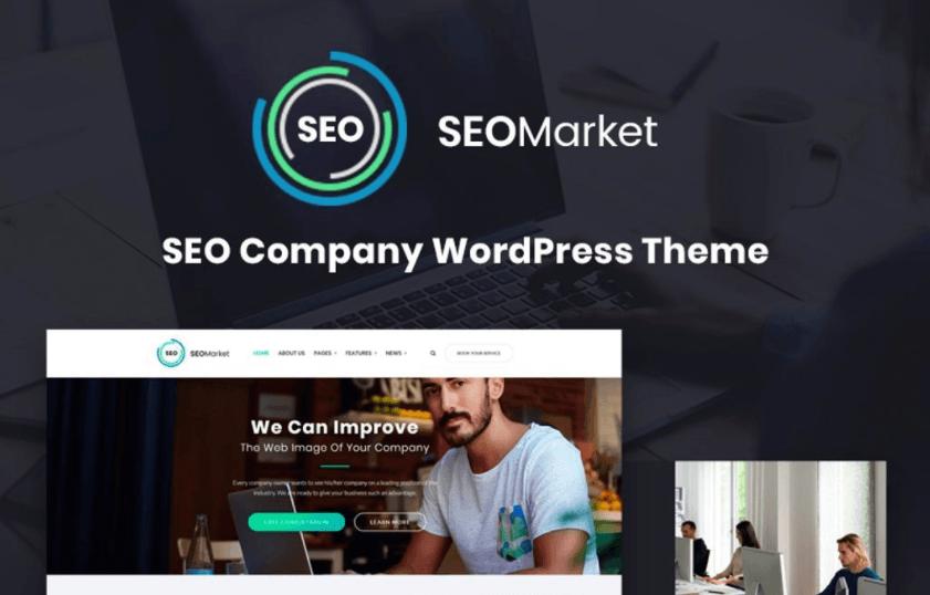 SEO Agency WordPress Templates