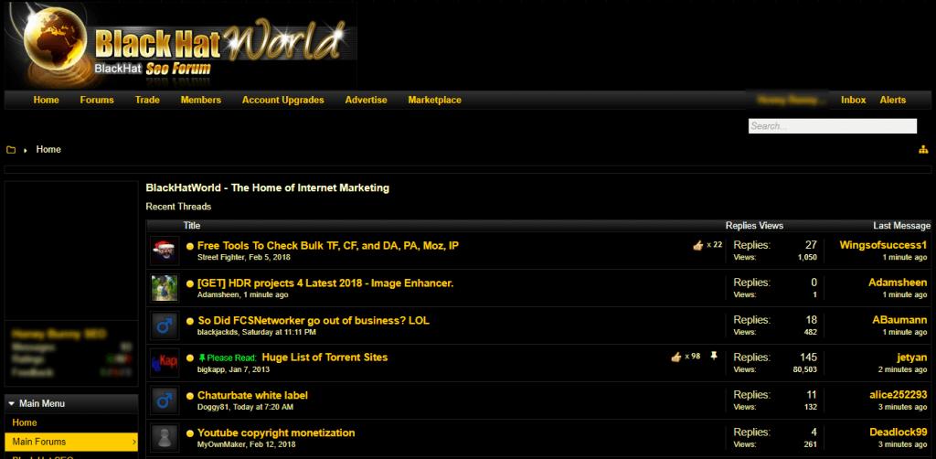 seo internet marketing forums