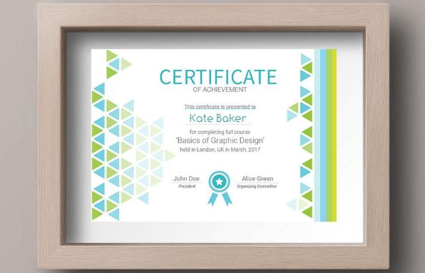 Triangles IT Certificate