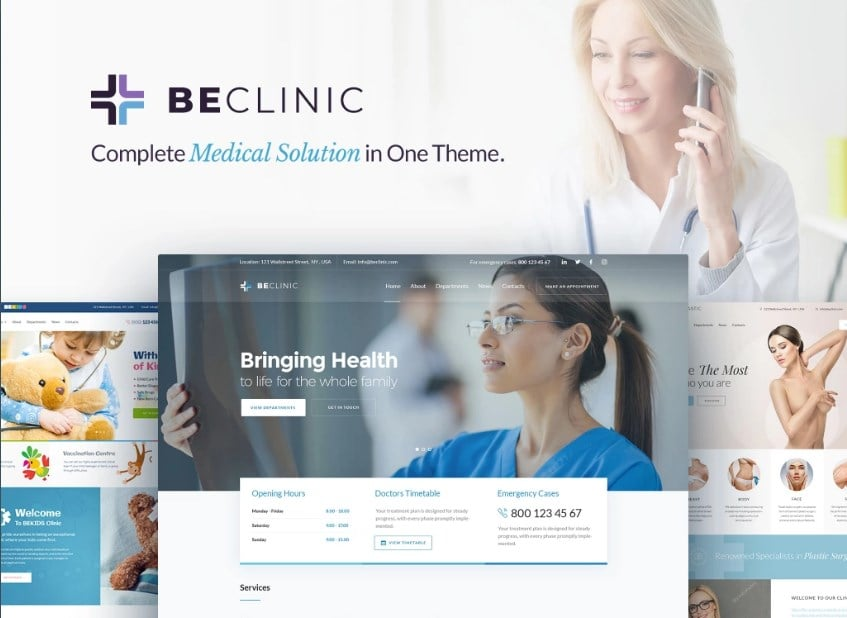 beclinic-wordpress-theme