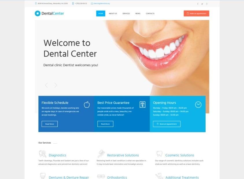 dentalcenter-wordpress-theme