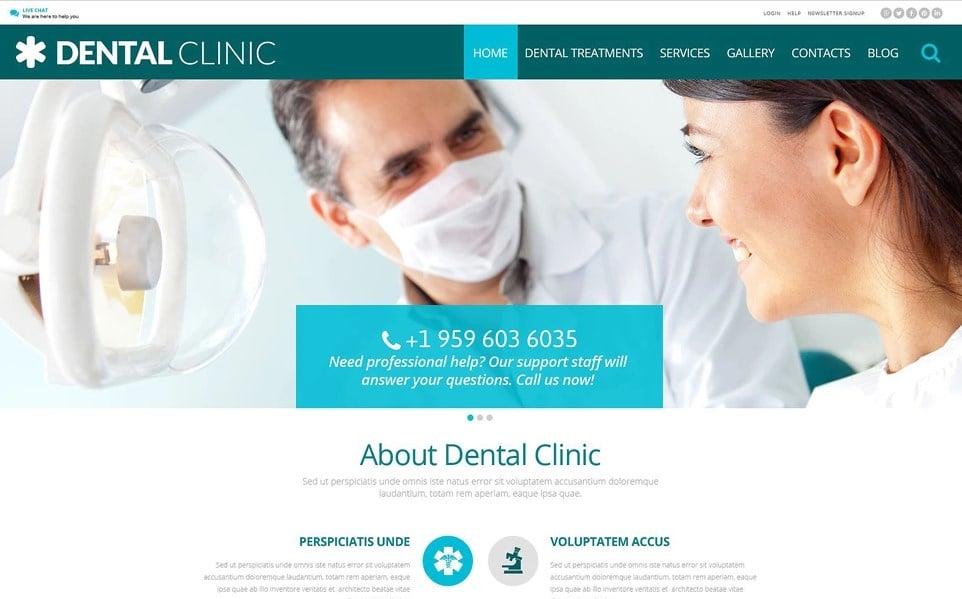 Dental - Medical Multipurpose Modern Elementor WordPress Theme