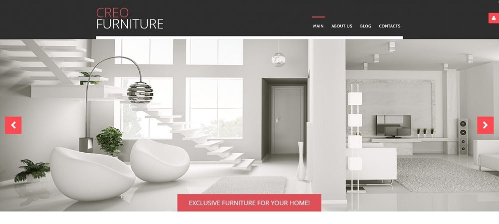 Interior & Furniture Free Joomla Template Joomla Template