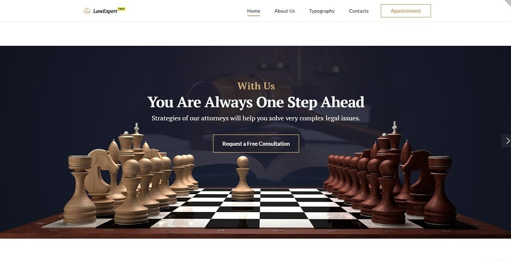 Free Responsive JavaScript Animated Template Website Template