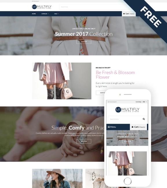 Multifly- Fashion Store Free ElegantShopifyTheme