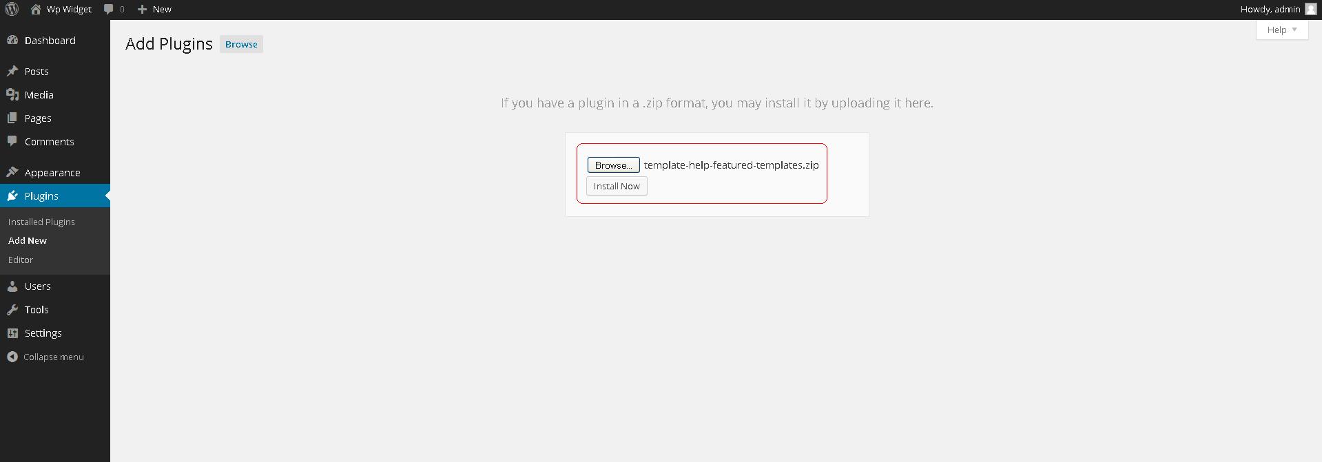 plugin_zip_install