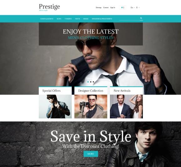 Fashion Store Free Prestashop Theme