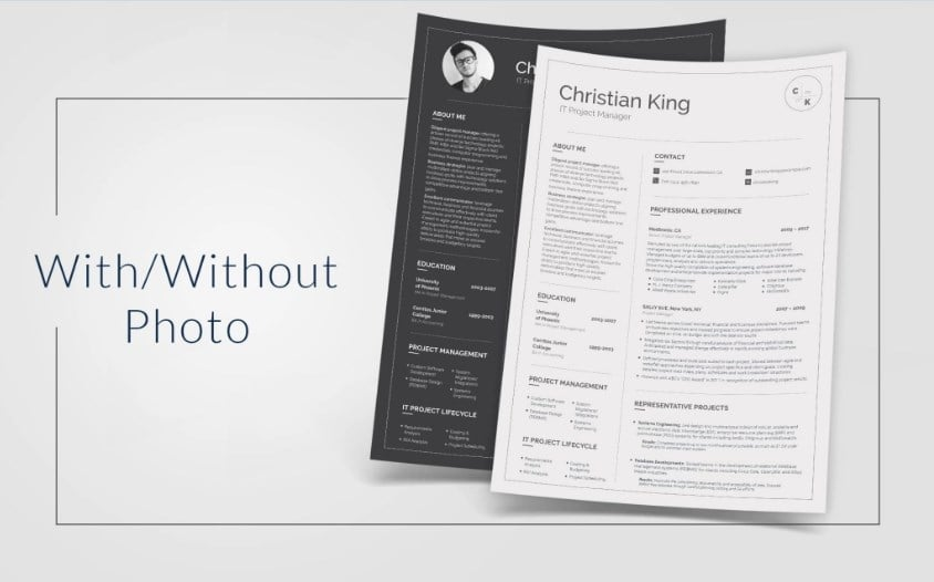 resume-christian-king
