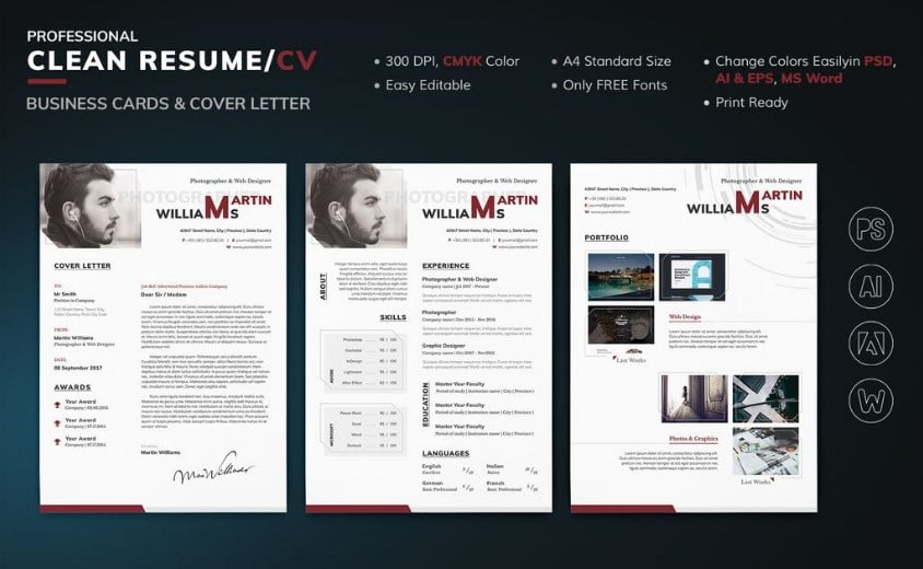 resume-martin-williams
