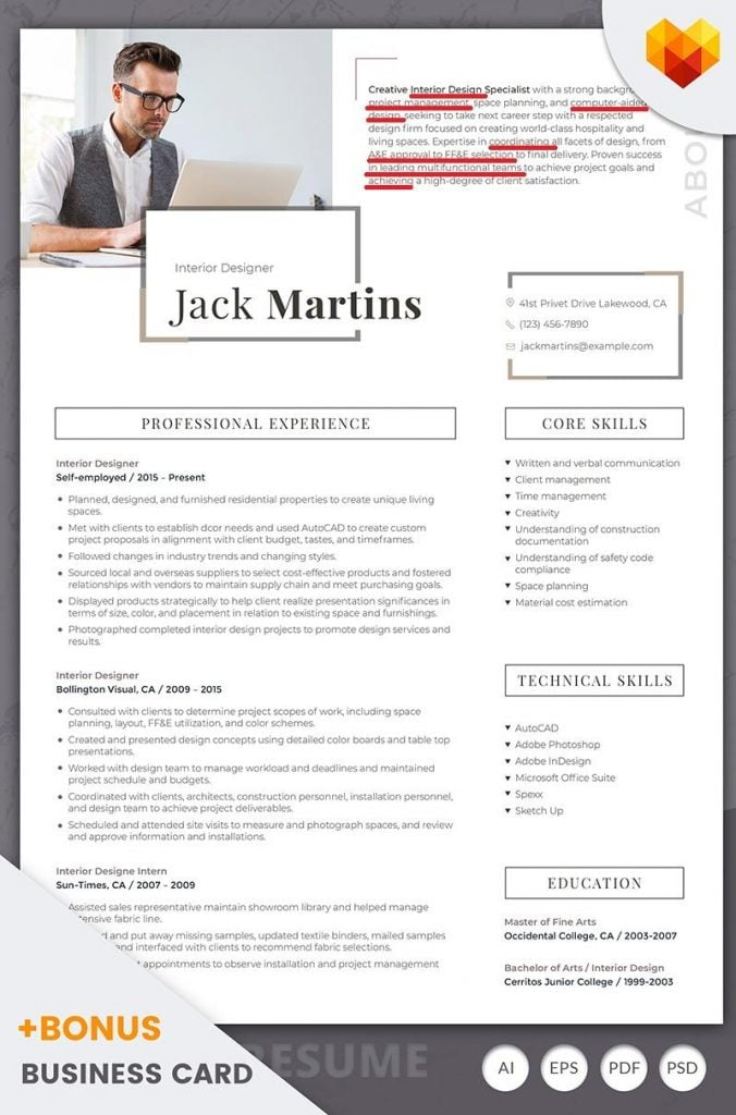 resume-summary-section