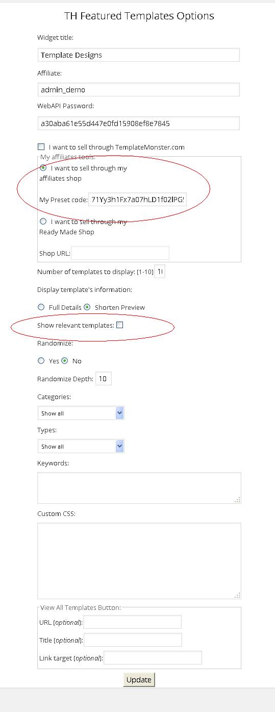 shortcode_preet_option_settigns