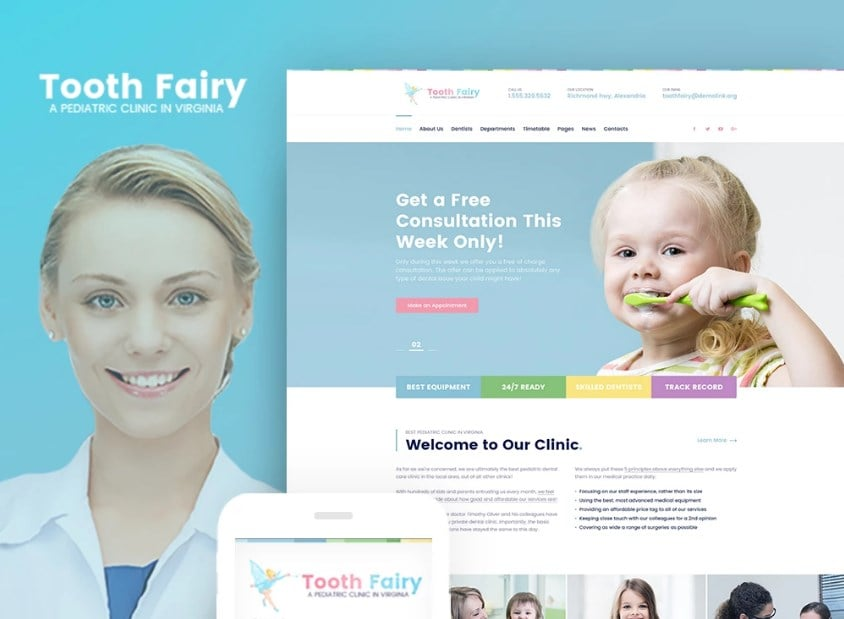 toothfairy-wordpress-theme