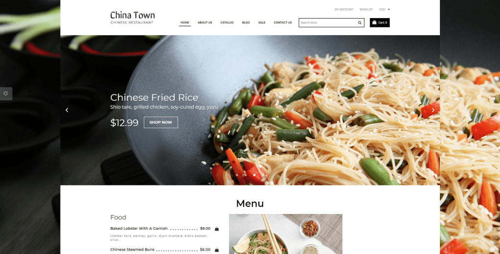 China Town - Sushi Restaurant Shopify Theme