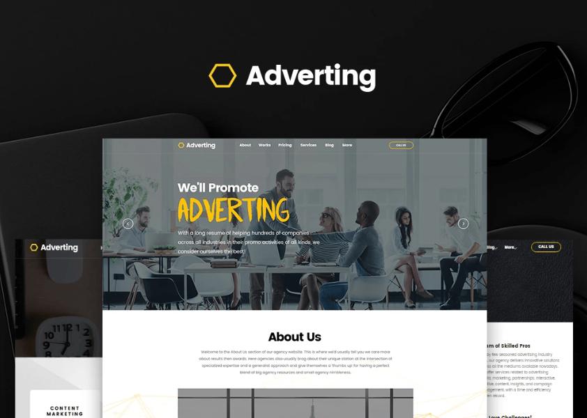 Adverting