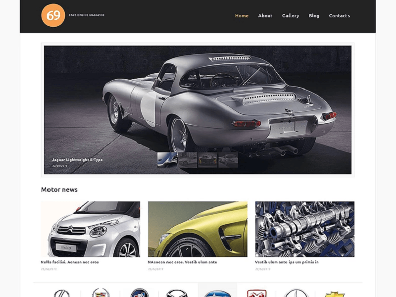 70 Top-Trending Automotive WordPress Themes Designed in 2019