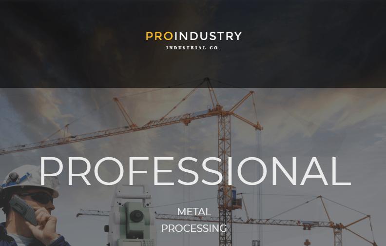 ProIndustry WordPress Theme