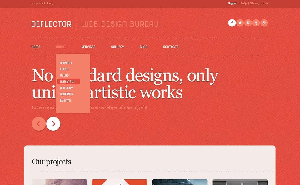 Red Web Design Studio