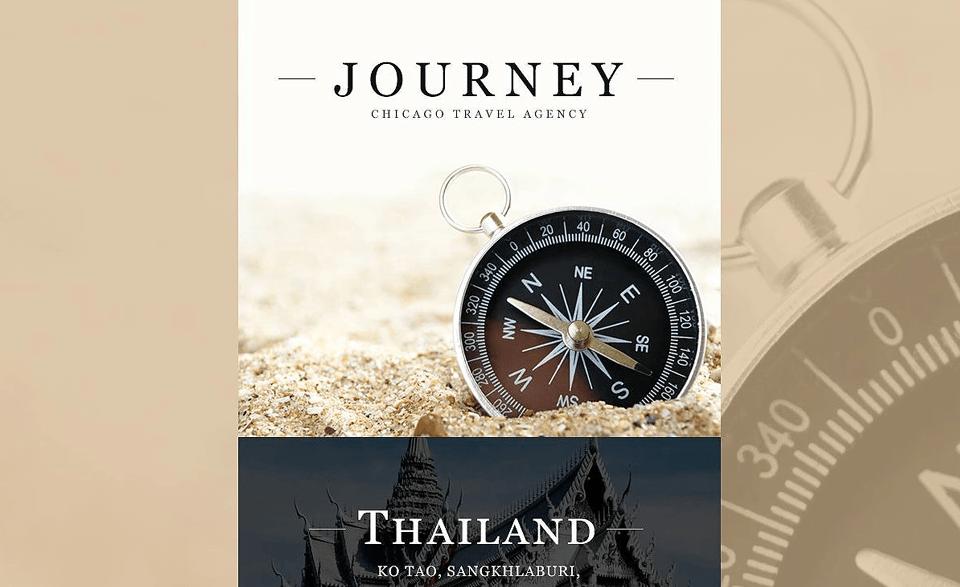 Travel Agency Responsive Newsletter Template