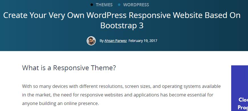 Website Based On Bootstrap 3