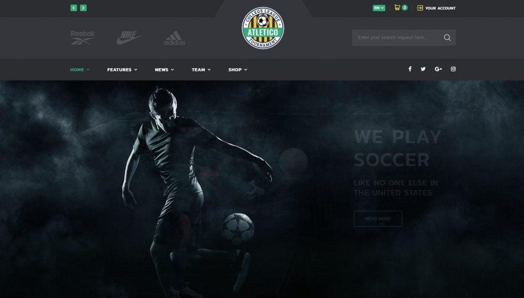 ALLSTAR - Sport Multipurpose Bootstrap 4 Website Template