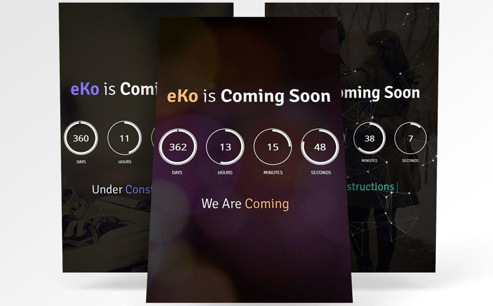 eKo Coming Soon Specialty Page