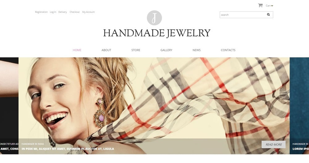 Handmade Jewelry WooCommerce Theme