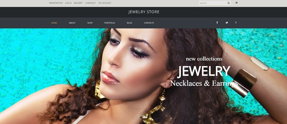 Jewelry Pieces WooCommerce Theme