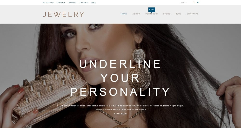 Jewelry Products WooCommerce Theme