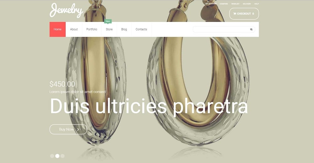 Jewelry WooCommerce Theme