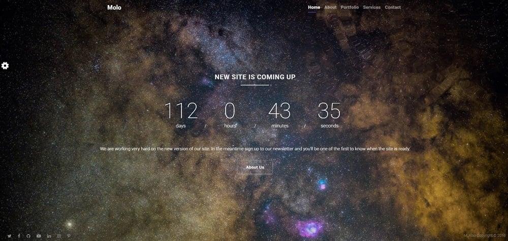 MOLO Coming Soon Specialty Page