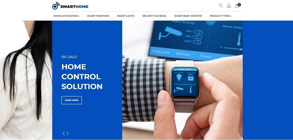 SmartHome - AMP Home Electronics Magento Theme