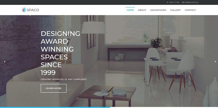 Spaco - Architecture Multipurpose Modern Elementor WordPress Theme.