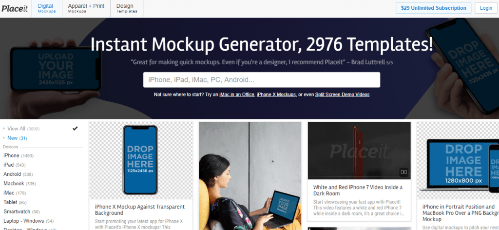 mockup generator free