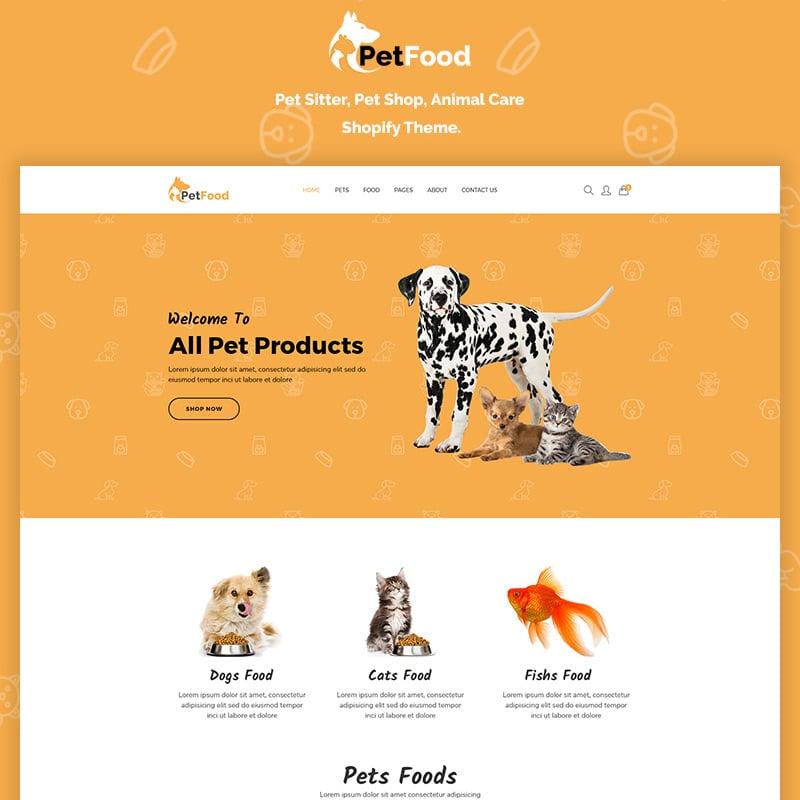 Animal Care Shopify Theme