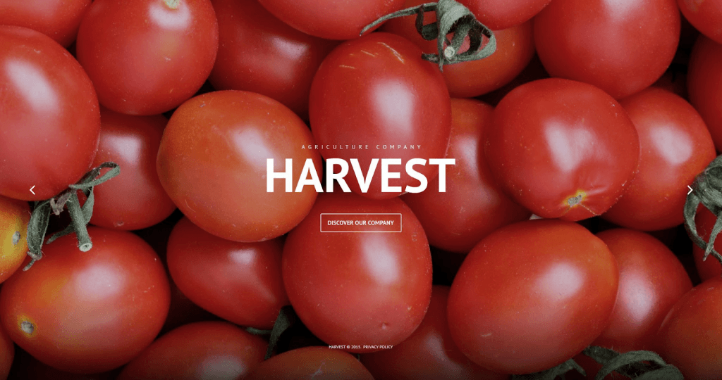 Agricultural WordPress Templates