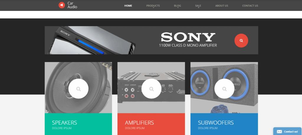 Car Audio Shopify Theme