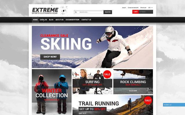 Extreme Sports Gear