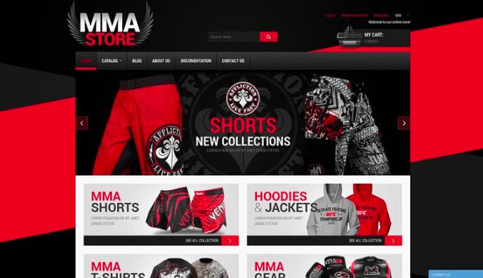 MMA Items