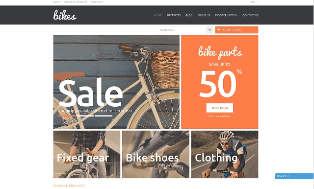 Shopping Bikes Accessories