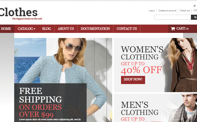 Stylish Clothes Shopify Theme