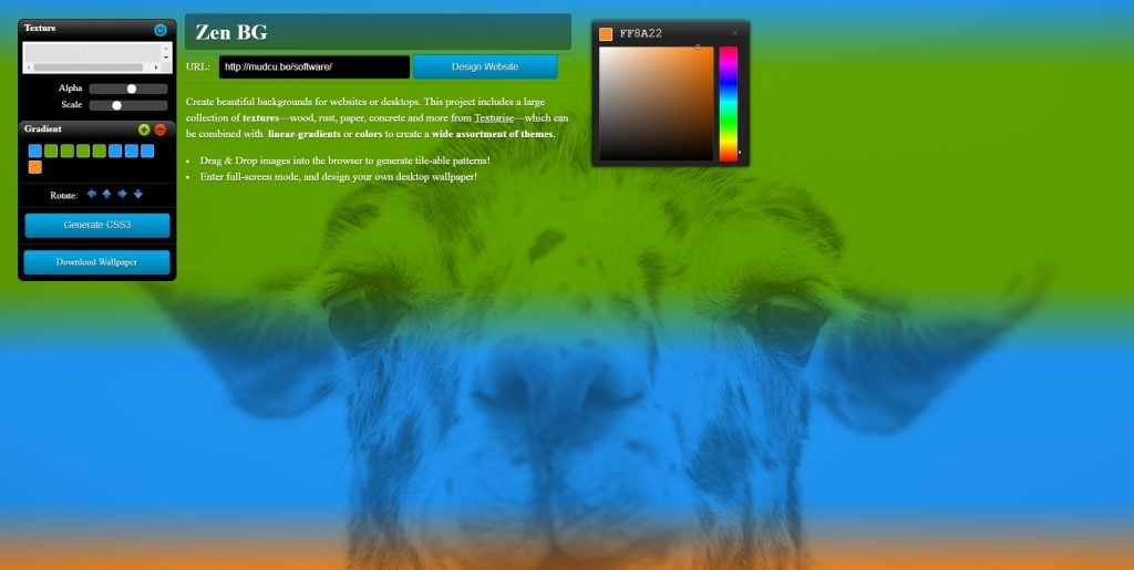 10+ Free 'Random Background Generators' for Graphic and Web Designers