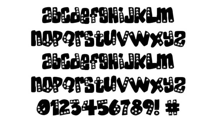 American Donuts Font.