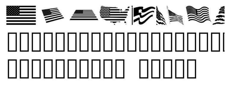 Look For America Font.