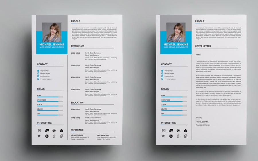 40 Best 2020 S Creative Resume Cv Templates Printable Doc
