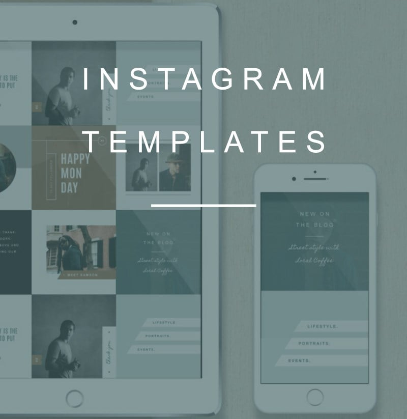 Free Instagram Templates for Easier Instagram Content Planning