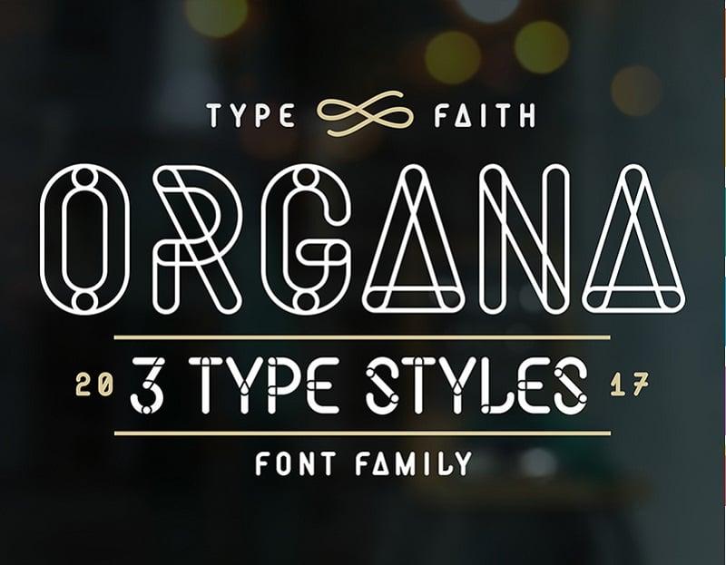 Organa - Font.