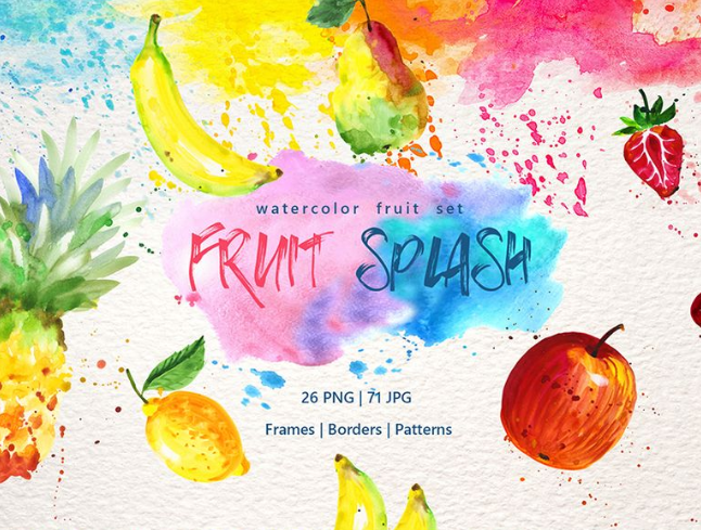 85+ Watercolor Freebies For Graphic Designers