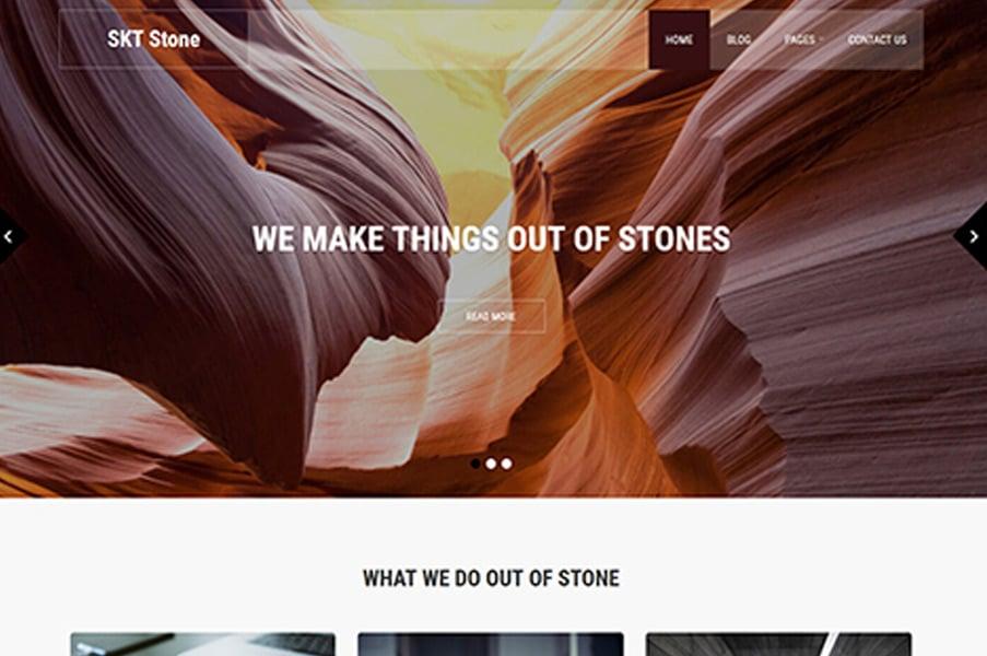 SKT Stone Lite By SKTThemes