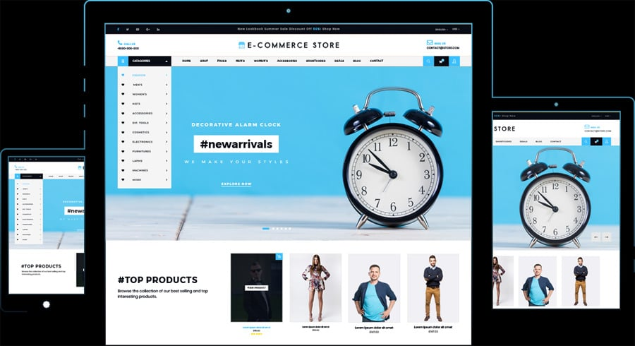Ultimate Ecommerce Shop By Logical Themes