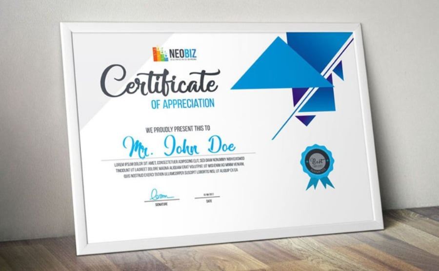 certificate designs collection image